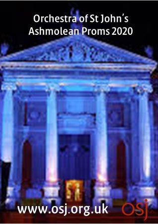 OSJ Ashmolean Proms 2020 leaflet cover